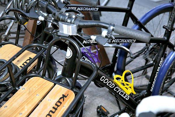 Mobile bike mechanics.