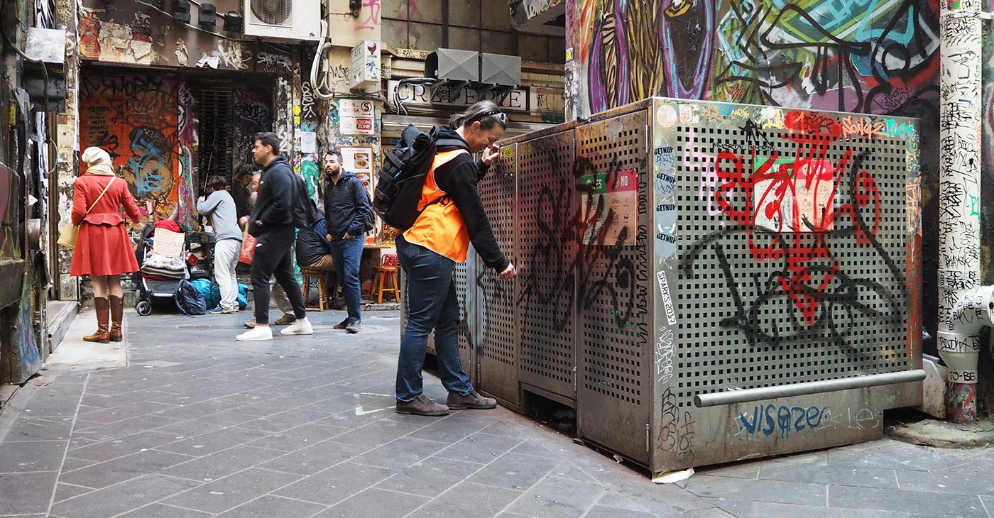 Waste management for City of Melbourne.