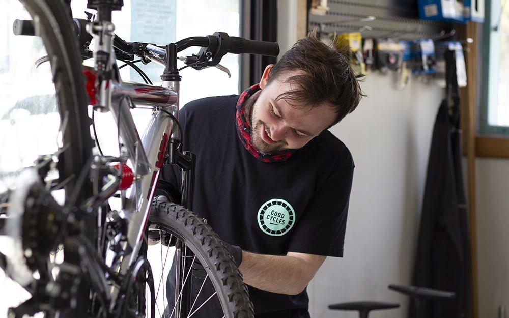 Nathan at Good Cycles Hub