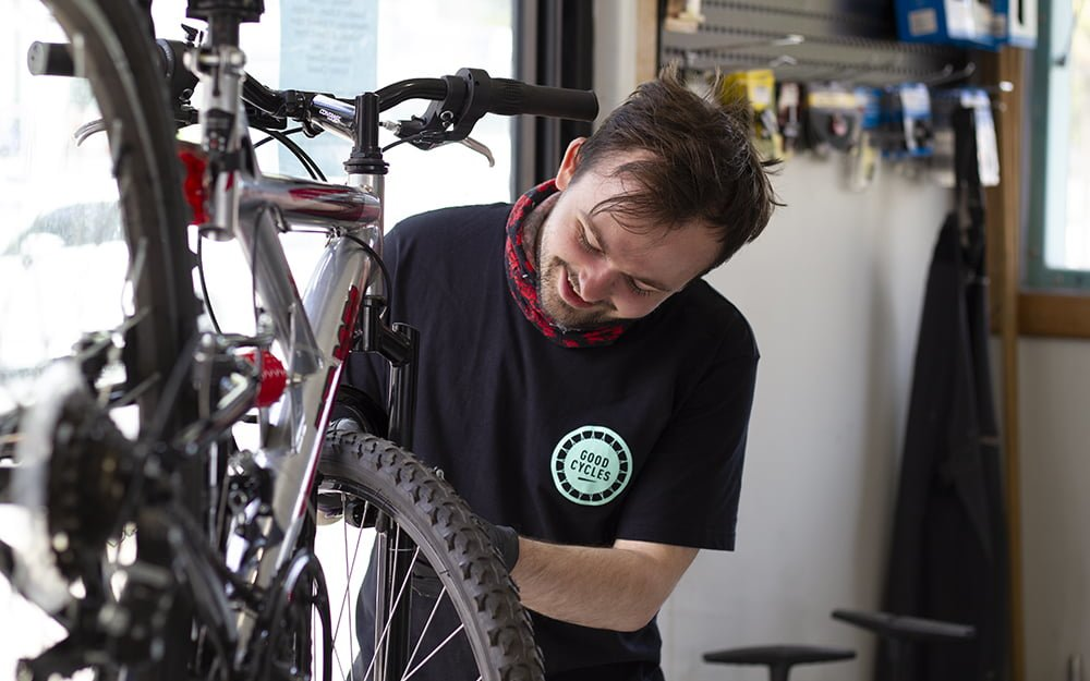 Nathan at Good Cycles Hub