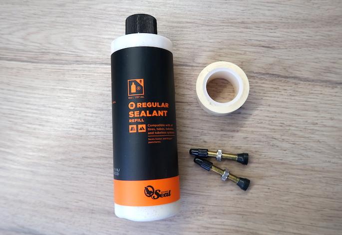 Tubeless essentials: Sealant, rim tape and valves