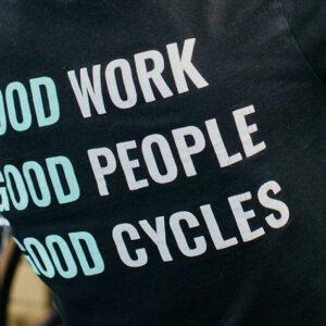 Good work, good people, good cycles